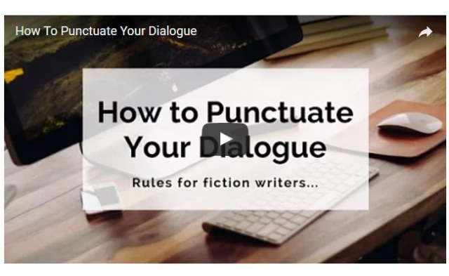 Punctuate-Dialogue