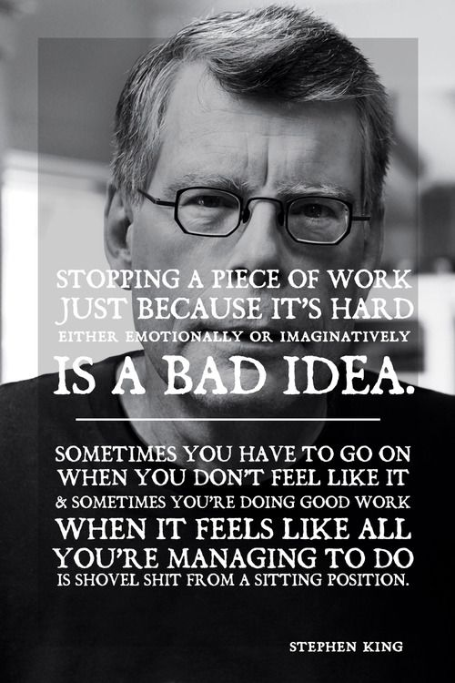 Stephen King Quote Inspiration