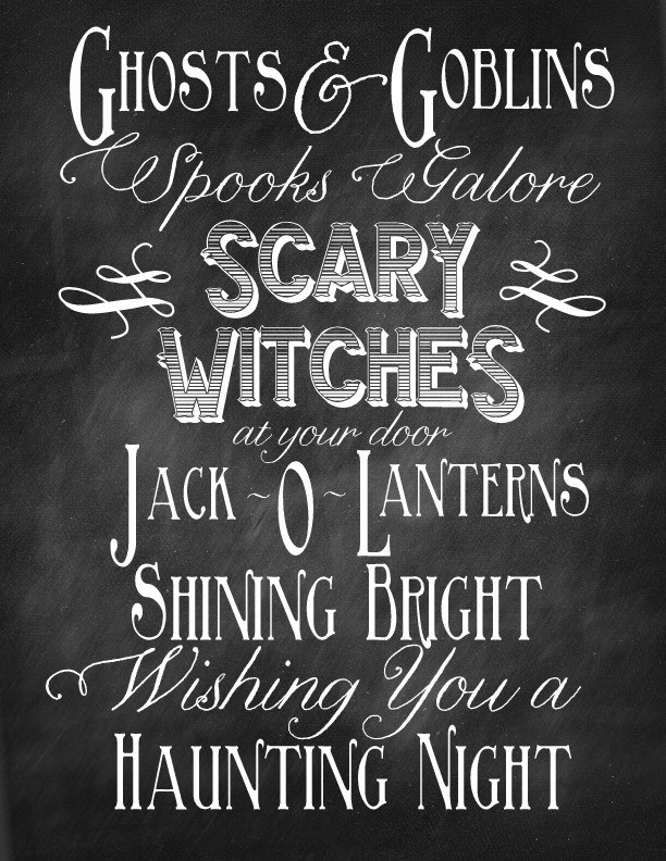 Writing Quote Halloween Poem