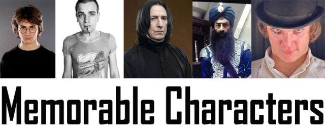 Memorable-characters