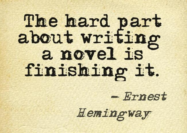 writing quote hemmingway