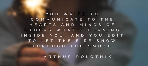 writing-quotes-arthur-polotnik